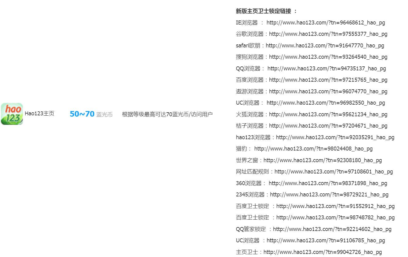 蓝光主页推广链接