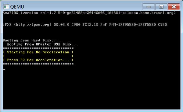 装机联盟U盘装系统赚钱:U盘启动盘模拟启动